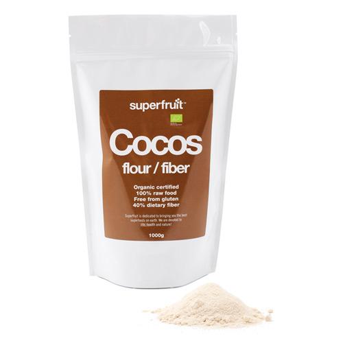 Superfruit kokosmel fra Helsebixen
