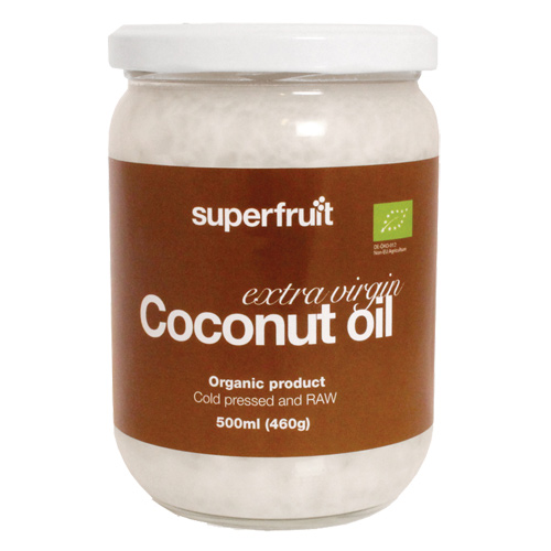 Superfruit kokosolie fra Helsebixen