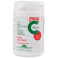 Image of Natur Drogeriet Mega C Calciumascorbat C-Vit (250 gr)