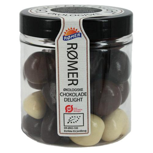 Chokolade delight Ø fairtrade (150 gr)