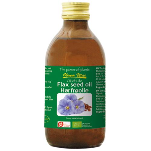 Oil of Life hørfrøolie fra Helsebixen