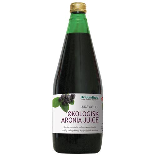 Image of Aronia Juice - Sur saft uden sukker Ø (700 ml)
