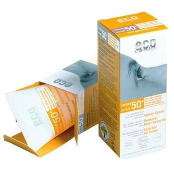 Image of ECO Cosmetics Solcreme SPF 50 m. Havtorn og Oliven (75 ml)
