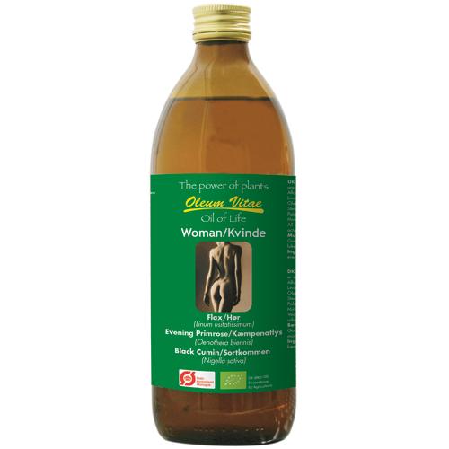 Image of Livets Olie - Oil of Life Kvinder Omega 3-6-9 Ø (500 ml)