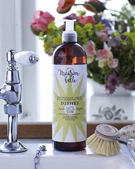 Image of Maision Belle Opvaskemiddel med Æble og Timian (500 ml)