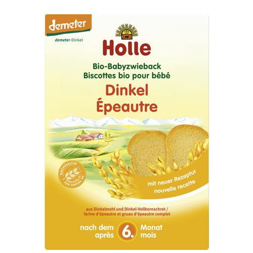 Image of Holle Demeter Bio Baby Spelt Tvebakker Ø (200 g)