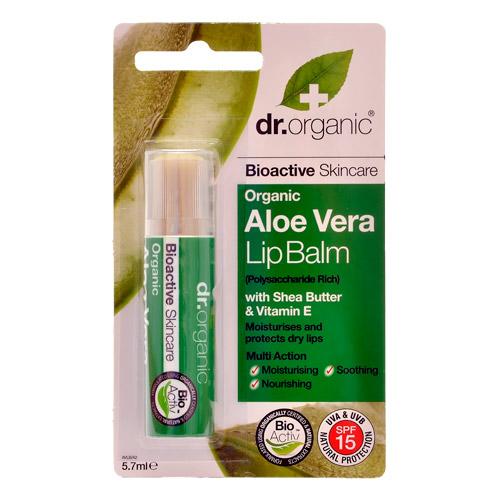 Image of Dr. Organic Aloe Vera Lip Balm (5,7 ml)