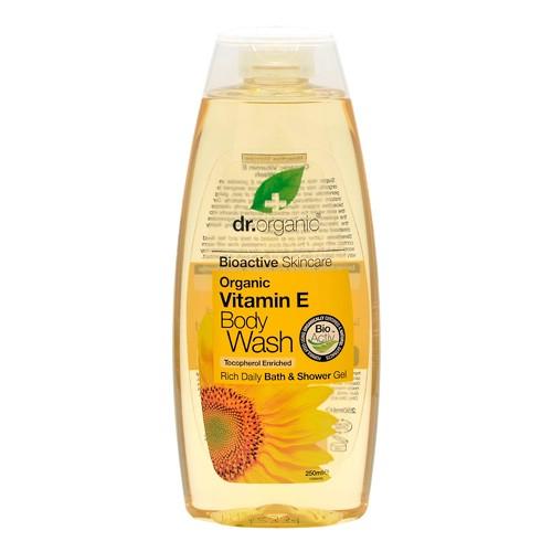 Image of Dr. Organic Vitamin E Bath & Shower (250 ml)