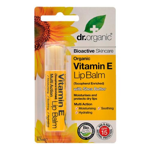 Image of Dr. Organic Vitamin E Lip Balm (5,7 ml)