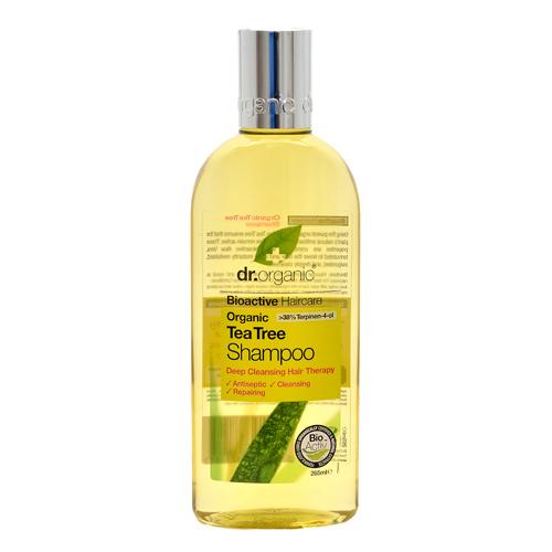 Image of Dr. Organic Tea Tree Shampoo (250 ml)
