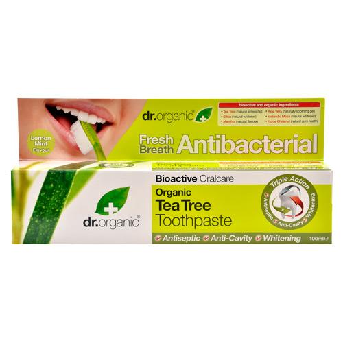 Image of Dr. Organic Tea Tree Tandpasta (100 ml)