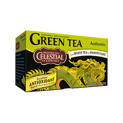 Image of Celestial Grøn Te Authentic The (20 breve)