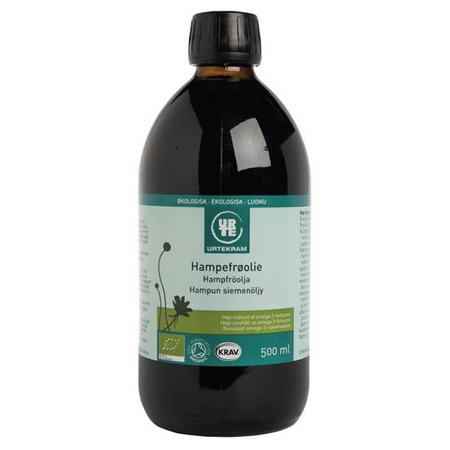 Image of Urtekram Hampefrøolie Ø (500 ml)