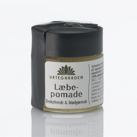 Tilbud på Urtegaarden Læbepomade (10 ml)