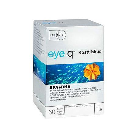 Image of Eye Q Fiskeolie (60 kapsler)