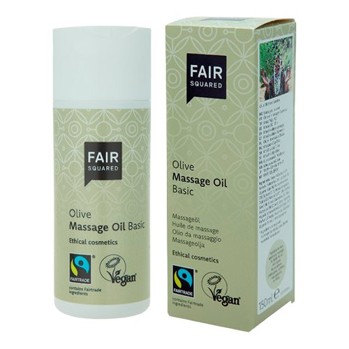 Fair Squared Oliven massageolie (150 ml)