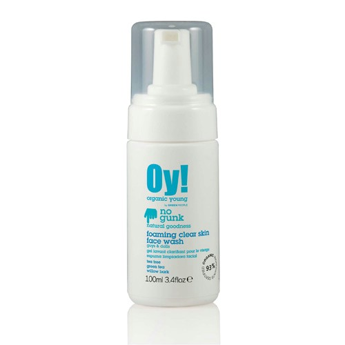 Image of GreenPeople Anti-Bacterial Foaming Facewash OY! (100 ml)