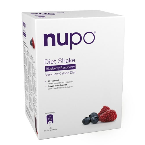 Image of Nupo Diet Shake Raspberry Blueberry (384 gr)