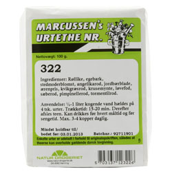 Image of Natur Drogeriet Marcussens The Nr. 322 (100 gr)
