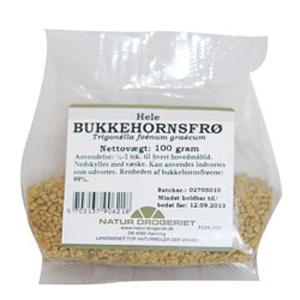 Image of Natur Drogeriet Bukkehornsfrø Hele (100 gr)
