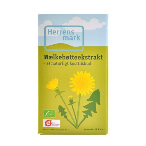 Image of Herrensmark Mælkebøtteekstrakt Bag-in-box Ø (2 liter)