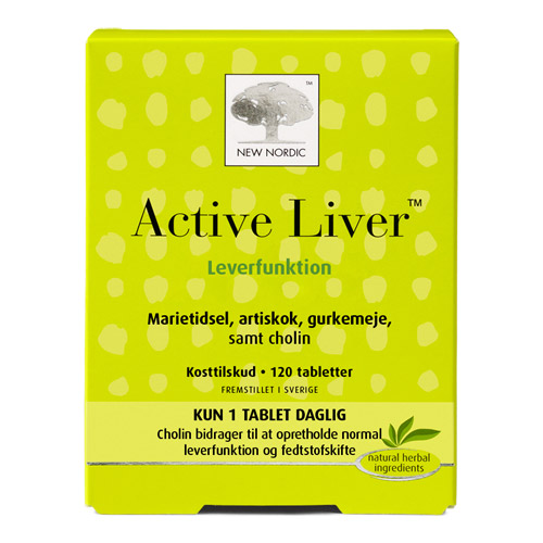 Image of New Nordic Active Liver (120 tabletter)