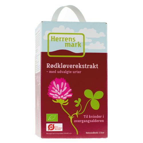 Image of Herrens Mark Rødkløver Ekstrakt Bag-In-Box Ø (2 l)