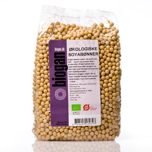 Biogan soyabønner fra Helsebixen