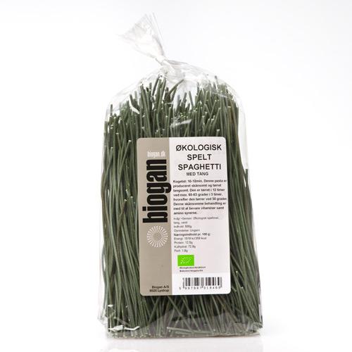Image of Biogan Spaghetti Spelt Tang Ø (500 gr)