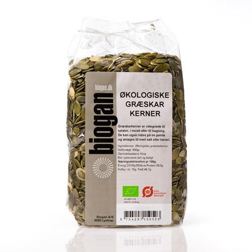 Biogan græskarkerner fra Helsebixen