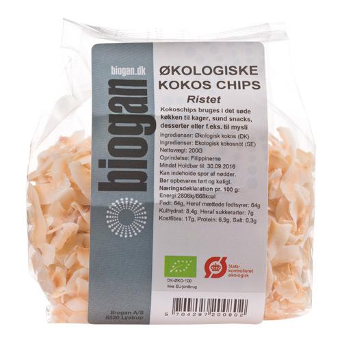 Image of Biogan Kokoschips Ristet Ø (200 gr)