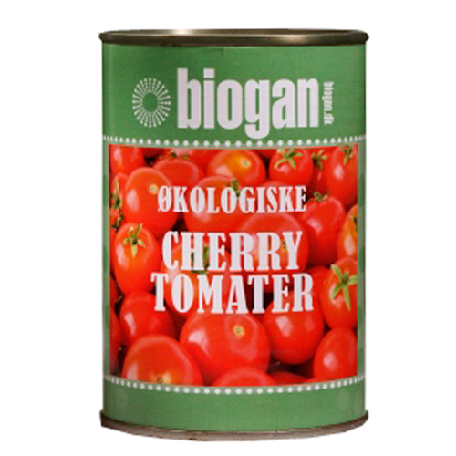 Image of Biogan Cherry Tomater i Dåse Ø (400 g)