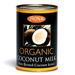 Biogan kokosmælk fra Helsebixen
