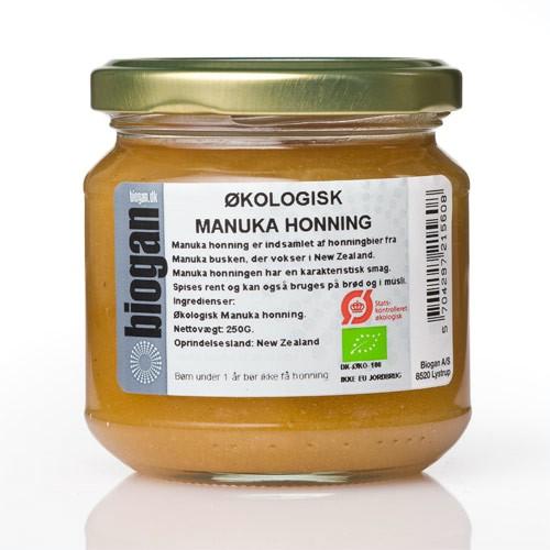 hvad er manuka honning