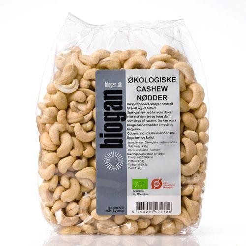 Biogan cashewnødder fra Helsebixen