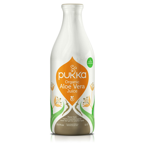 Pukka aloe vera juice fra Helsebixen