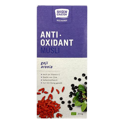 Image of Antioxidant Mysli - Goji & Aronia Ø (350 g)