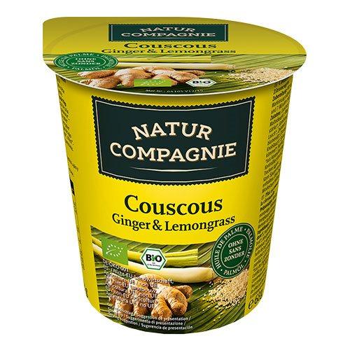 Image of Natur Compagnie Couscous m. ingefær og citrongræs Ø instant (68g)