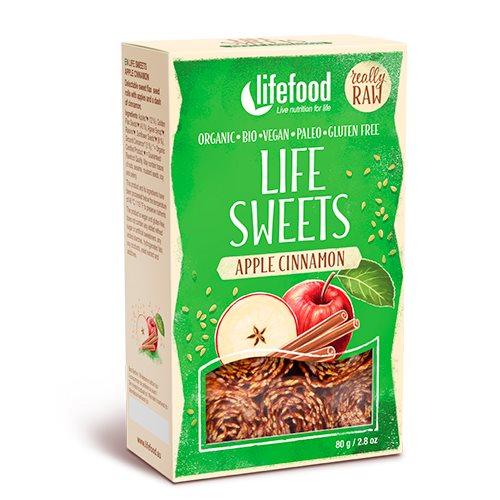 Billede af Lifefood Life Sweets m. Æble & Kanel RAW Ø (90 g)