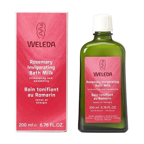 Weleda Rosemary Invigorating Bath Milk (200 ml)