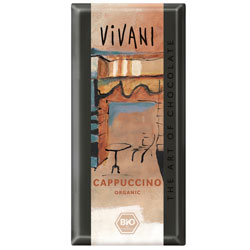 Image of Vivani Cappuchino chokolade Ø 100 gr