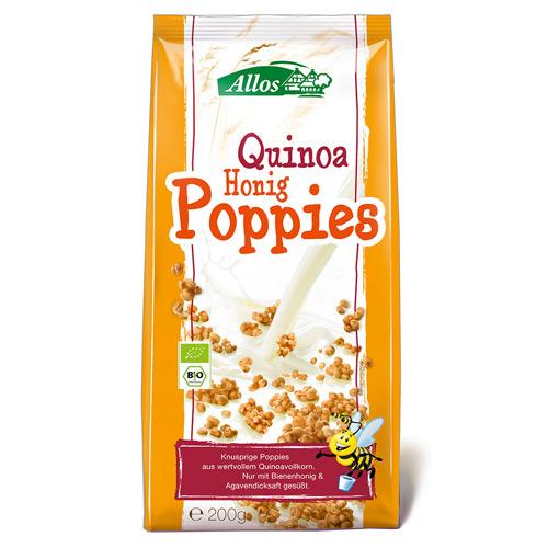 Image of Allos Quinoa Honning Poppies Ø (200 gr)