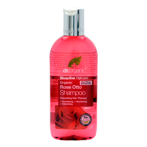 Image of Dr. Organic Rose Otto Shampoo (250 ml)