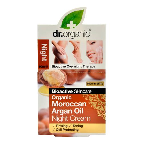 Image of Dr. Organic Moroccan Argan Oil Night Cream (50 ml)