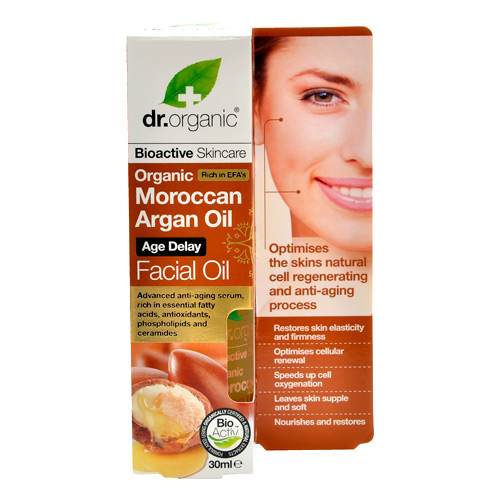 Image of Dr. Organic Facial Serum Argan (30 ml)