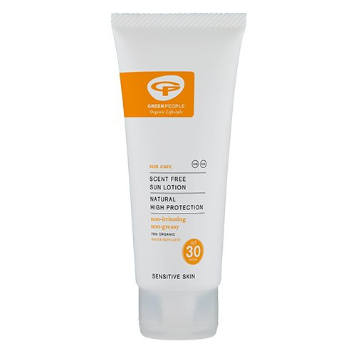 Green People Sun Lotion SPF 30 Scent Free (100 ml.)