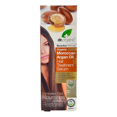 Image of Dr. Organic Moroccan Argan Oil Hair Treatment Serum (100 ml)