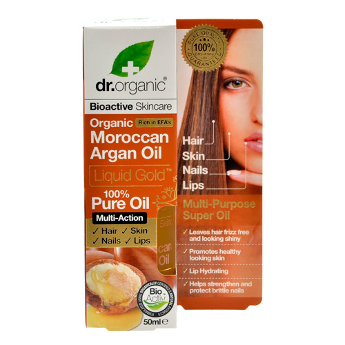 Image of Dr. Organic Moroccan Argan Oil (50 ml)