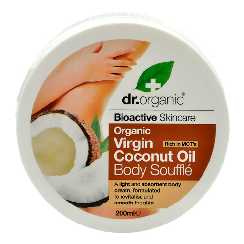 Image of Dr. Organic Body Soufflé Coconut (200 ml)