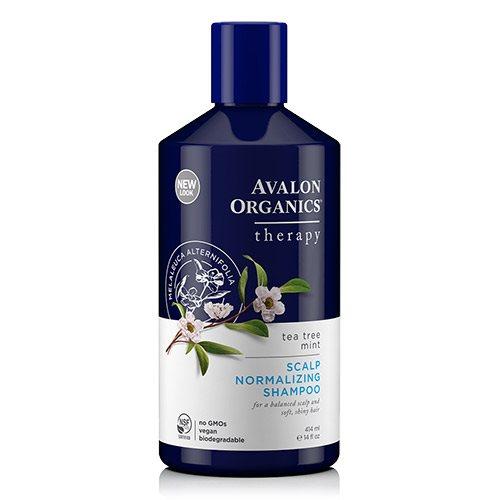 Image of Avalon Organics Shampoo Tea Tree Mint Scalp Normalizing (414 ml)